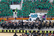 Clausura de la segunda edición de Escola Canta, en la Plaza de Toros de Castellón.