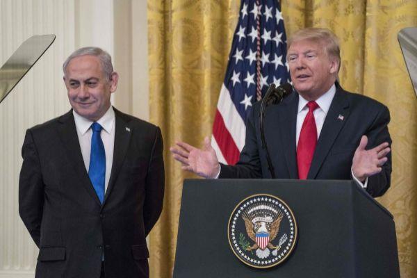 Trump y Netanyahu, el martes en la Casa Blanca.