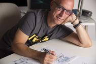 El dibujante castellonense Sergio Abad ha participado en la producción de 'Buñuel'.