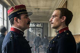 Jean Dujardin y Louis Garrel en una escena de 'El oficial y el espía', de Polanski.