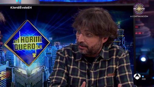 Jordi Évole en El Hormiguero.