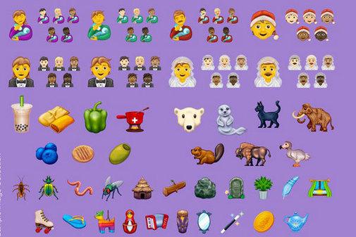 Este año habrá 117 nuevos emojis.