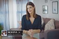 Susana Molina se presenta en La isla de las tentaciones.