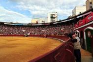 La plaza de toros de Castellón donde se celebraría el espectáculo.