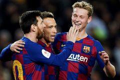 El Barcelona encuentra alivio en el Leganés