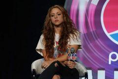 Shakira, este jueves en un evento en Miami.