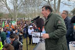 Ángel García Blanco, presidente de la organización agraria Asaja Extremadura.