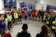 Los runners se concentraron en las instalaciones de Garage Castellón.