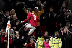 Soccer Football - FA Cup Third Round Replay - Manchester United v Wolverhampton Wanderers - Old Trafford, Manchester, Britain - January 15, 2020 Manchester United's <HIT>Juan</HIT> <HIT>Mata</HIT> celebrates scoring their first goal REUTERS/Andrew Yates - RC2LGE9UV0XV