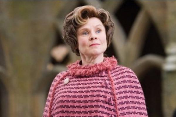 Imelda Staunton, en 'Harry Potter'.