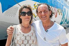 Custo Dalmau y su esposa Eva Vollmer.