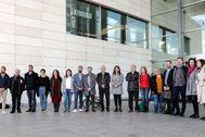 El Gobierno del Rialto, reunido en el Palacio de Congresos.