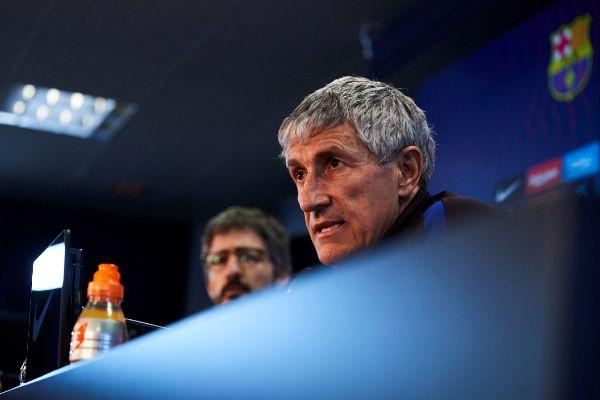 GRAF2523. BARCELONA.- El entrenador del FC Barcelona Quique...