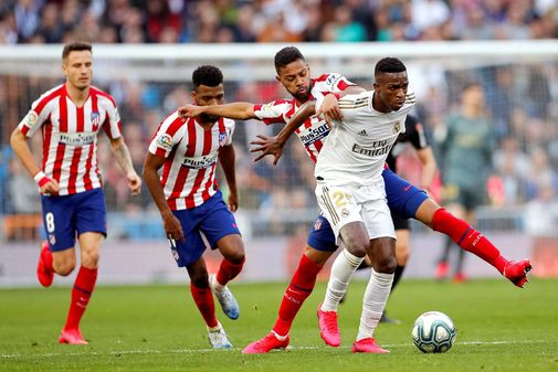 GRAF2748. MADRID.- Los jugadores brasileños <HIT>Vinícius</HIT> Jr....
