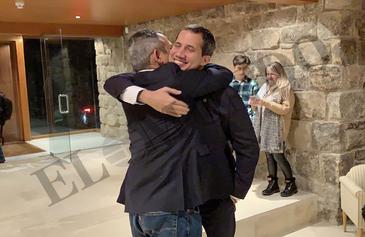 El encuentro más secreto y feliz de Guaidó
