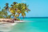 Playa de Samaná, en República Dominicana.