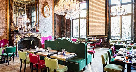 El restaurante Cristal Room Baccarat.