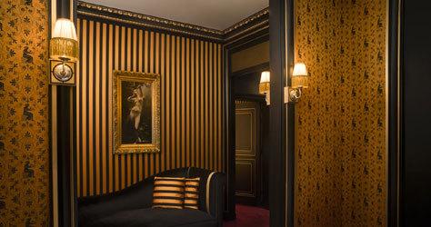 Maison Souquet, un antiguo lupanar convertido en hotel.