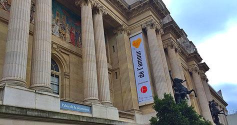 Exposición 'De l'amour' en el Palais de la Découverte.