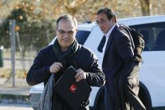 El ex 'conseller' condenado por sedición Jordi Turull.