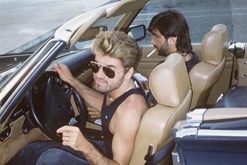 George Michael, en 1990.
