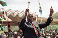 Arap Moi en una imagen de archivo.