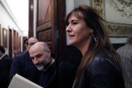 Laura Borràs, portavoz de JxCat, en el Congreso de los Diputados.