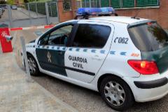 Patrulla de la Guardia Civil.