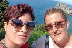 Adriana Ugueto, de 35 años, y su madre, Olga, de 57.