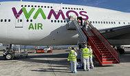 El Boeing 747-400 fletado por Wamos Air para repatriar a los españoles de Wuhan.