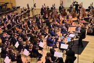 Un momento del concierto celebrado en el Auditorio Provincial ADDA