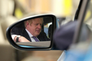 El primer ministro británico Boris Johnson en Sunderland