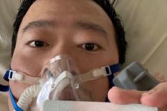 El doctor Li Weinliang publicó en sus redes sociales una foto en el hospital.