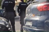 Unos agentes de la Policía Nacional.
