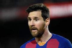 Messi, en un partido del Barça.
