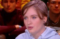 Mila Orriols durante una entrevista en 'Quotidien'.