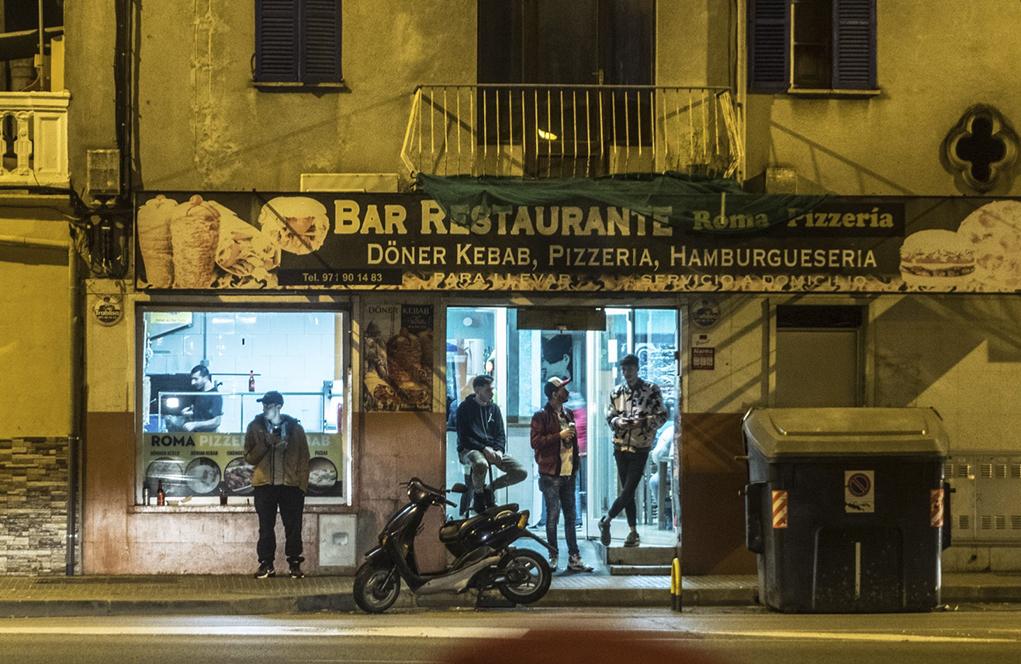 Barrio de Son Gotleu, donde sucedieron los hechos investigados en el...