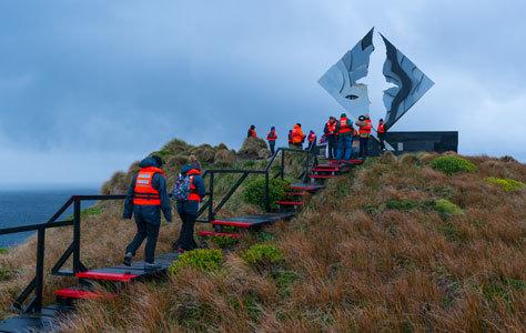Monumento al Cabo de Hornos.