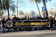 lt;HIT gt;Antonio lt;/HIT gt; lt;HIT gt;Moreno lt;/HIT gt; 05.02.2020 Barcelona Cataluña. Juicio acusados de encadenarse a las puertas del TSJC en Febrero del 2018.