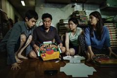 Los cuatro intérpretes que dan vida a la familia Kim.