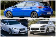 Lexus, Porsche y Toyota, las marcas de coches más fiables, según la OCU