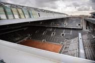 El nuevo techo retráctil de la Philippe Chatrier.