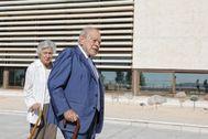 Jordi Pujol y su esposa, Marta Ferrusola, el pasado septiembre.