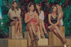 Las mujeres participantes, con Fani y Andrea en primera fila.