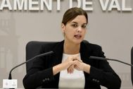 La vicealcaldesa de Valencia, Sandra Gómez.