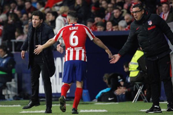 GRAF7260. MADRID.- El centrocampista del Atlético de Madrid Koke...