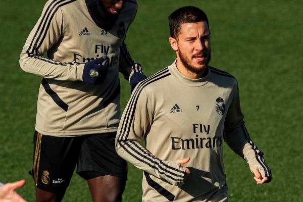 GRAF1938. MADRID.- El delantero belga del Real Madrid Eden lt;HIT...