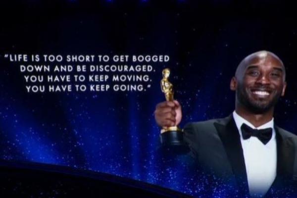 Homenaje a Kobe Bryant en los Oscars 2020