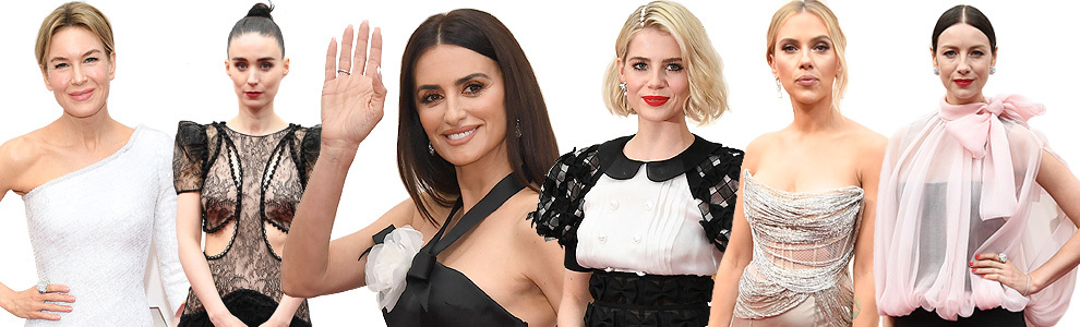 Altas dosis de seducción en la alfombra roja de los Oscar 2020