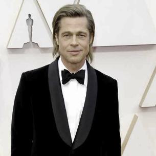 Brad Pitt con esmoquin de Brioni